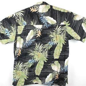Joe Marlin Shirts - Joe Marlin Men's Hawaiian Aloha Floral Shirt   E24